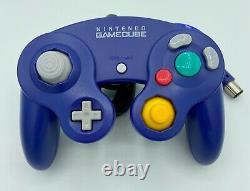 Nintendo Gamecube Dol-001 Cordons + Contrôleur 100% Nintendo Bon État