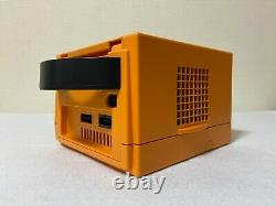 Nintendo Gamecube Orange Chargeur De Contrôleur De Console Dol-001 Très Bon État