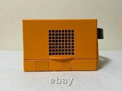 Nintendo Gamecube Orange Contrôleurs Console Chargeur Dol-001 Très Bon État