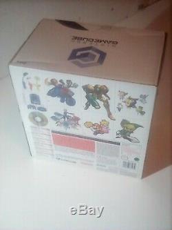 Nintendo Gamecube Perle Rare Console Blanche Contrôleur En Très Bon État