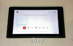 Nintendo Hac-001 32 Go Switch Console Noire, Console Seulement, Bon État Fonctionne