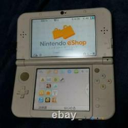 Nintendo Japon 3ds LL XL Console De Jeu Pearl White Utilisé Bon État Jp Dhl