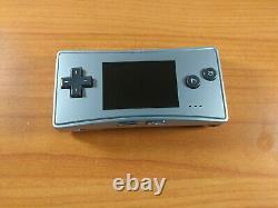 Nintendo Jeu Boy Micro Silver Système Bon État