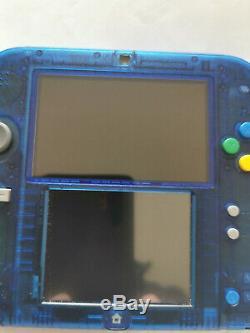 Nintendo Pokemon Blue Edition Spéciale Très Bon État Entièrement Caissonné