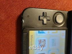 Nintendo Pokemon X & Y Limited Edition 3ds XL Bleu, Bon État Avec Chargeur