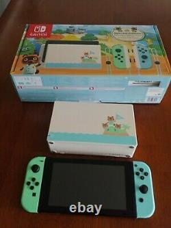 Nintendo Switch Animal Crossing New Horizons Edition Très Bon État