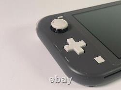 Nintendo Switch Console Lite Système Portatif Gris Bon État Grade B