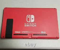 Nintendo Switch Limited Edition Mario Red Tablet Only Good Condition (9/10)