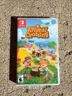 Nintendo Switch -lite Yellow 32go Avec Animal Crossing, Très Bon État