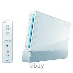 Nintendo Wii Launch Edition White Console (ntsc) Très Bon État