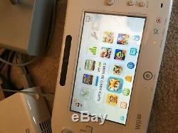 Nintendo Wii U 32 Go Super Mario 3d Maker Splatoon Mario Loaded! Bonne Condition