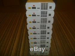 Nintendo Wii U 8 Go Lot De 10 Systèmes Consoles Seulement Blanc Wiiu Bon Travail Forme