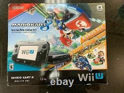 Nintendo Wii U Mario Kart 8 Deluxe Set 32 Go Console Bon État