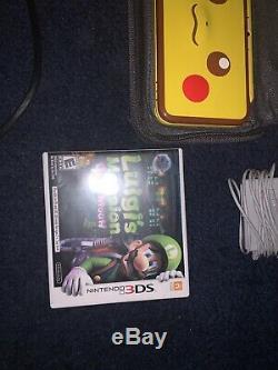 Nintendo XL Pikachu Édition Rarevery Bon État + Jeux