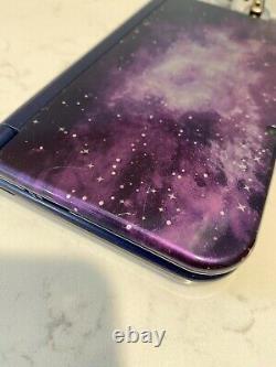 Nouvelle Nintendo 3ds XL Galaxy Edition + Câble De Charge Bon État