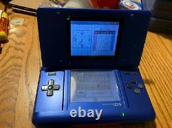 Nrt-001 Nintendo Ds System Bon État! Carte De Capture Installée! Testé