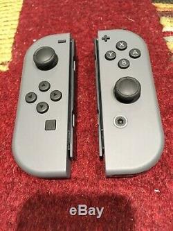 Occasion Nintendo Switch 32gb Hac-001 (avec Grey Joy-cons) Très Bon Etat