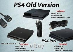 Occasion Très Bon État Sony Playstation 4 Ps4 Slim / Pro
