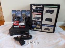 Panasonic 3do Fz1 R. E. A. L. Console De Jeu Modèle Us Très Bon État