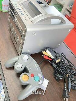 Panasonic Q Sl-gc10-s Nintendo Gamecube Testé En Bon État Japon