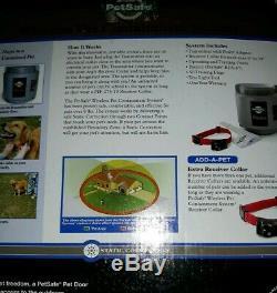 Pet Safe Sans Fil Clôture Système De Confinement Pif-300. Boîte Ouverte. Condition Excellente