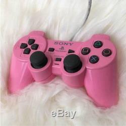 Playstation 2 Console Rose Ps2 Japon Bon État D'origine Controlier