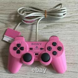Playstation 2 Console Rose Ps2 Scph-77000 Japonais Ver En Très Bon État
