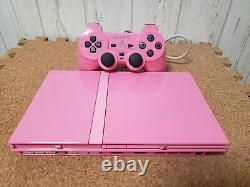 Playstation 2 Pink Console System Japon Ps2 Good Condition