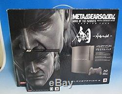 Playstation 3 Metal Gear Solid Hagane Ps3 Console Japon Bon Etat Vente