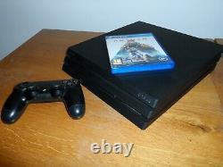 Playstation 4 Ps4 Pro Console 1 To 7016b Bonne Condition Libre P & P