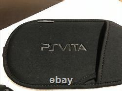 Playstation Ps Vita Slim 2001 3.73fw Bon État Blaze Blue Jeu Et Boîtier