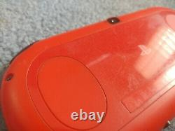 Playstation Ps Vita Slim LCD 2000 Noir Rouge 3.60 Fw Bon État