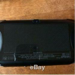 Playstation Vita Modèle Wi-fi Noir Pch-2000 Bon État Corporel Seulement
