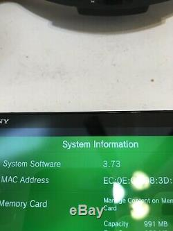 Playstation Vita Ps Slim 2000 3.73fw Black Bonne Condition Call Of Duty Mem 4gb