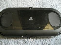Playstation Vita Ps Slim LCD 2000 Noir 3.60 Fw Sd2vita Bon État