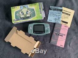 Pokemon Center Game Boy Advance Celebi Édition Limitée Très Bon État