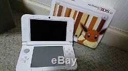 Pokemon Center Nintendo 3ds XL LL Evoli Eievui Édition Utilisée Bon État