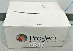 Pro-ject Audio Systems Essential III Turntable Piano Black In Box Bonne Forme