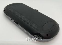 Ps Vita Avec Boîte Pch-1000/1100 Noir Modèle Oled Wi-fi/3g Utilisé Bon État