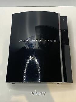 Ps3 Fat Cechk01/original Box/ 5 Jeux/ 2 Blu Rays/ Très Bon État