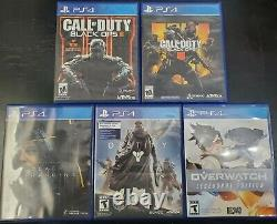 Ps4 Bundle Sony Playstation 4 500 Go Console Blanche Avec Jeux Very Good Condition