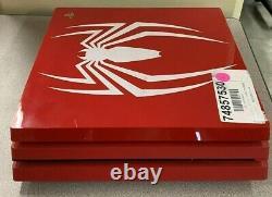 Ps4 Pro 1tb Limited Edition Marvel Spider-man Console Seulement Bon État