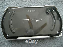 Psp Go Noir Slim Console Portable Très Bon État