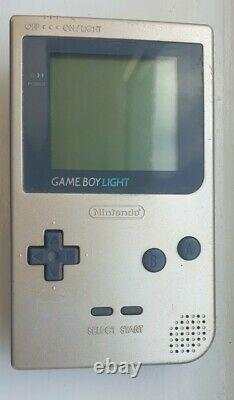 Rare Nintendo Game Boy Light Gold Boxed Très Bon État