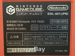 Rare Nintendo Gamecube Gundam Char Console Système Dol-001 Bon État Indésirable