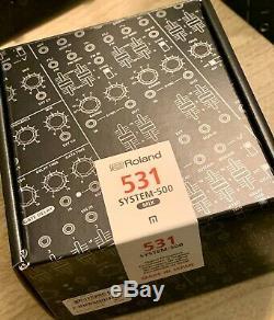 Roland System-500 531 Eurorack Mélangeur Modulaire, Emballage D'origine Etc, Bonne Forme