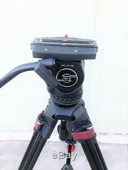 Sachtler Système Fsb 8 Head / Speed lock Utilisation Du Trépied Cf En Bon État