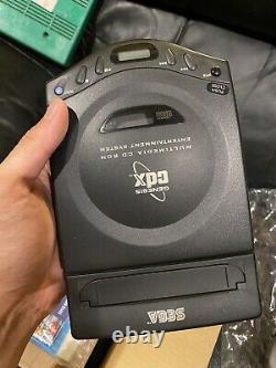 Sega CDX Cib Complete Works Genesis CD Bonne Condition Console Box Manuels Jeux