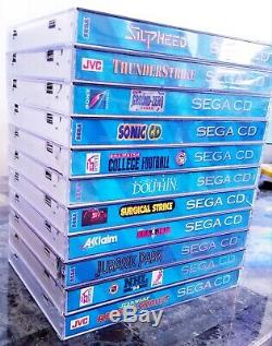 Sega Cd, Sega 32x, Sega Genesis Modèle 2 Condition Bon Extrêmement! 22 Jeux