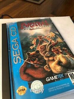 Sega Cd, Sega Genesis Cdx, Très Bon État, Teste, No Av Cable, Faisceau De Jeu